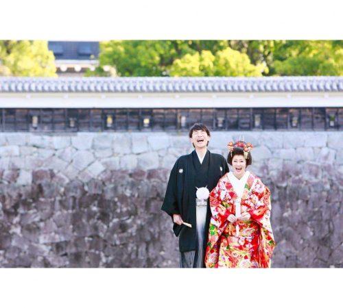 ロケーションフォト 熊本城 前撮り