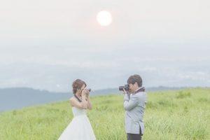 前撮り ロケーション撮影 ウェデングフォト 山